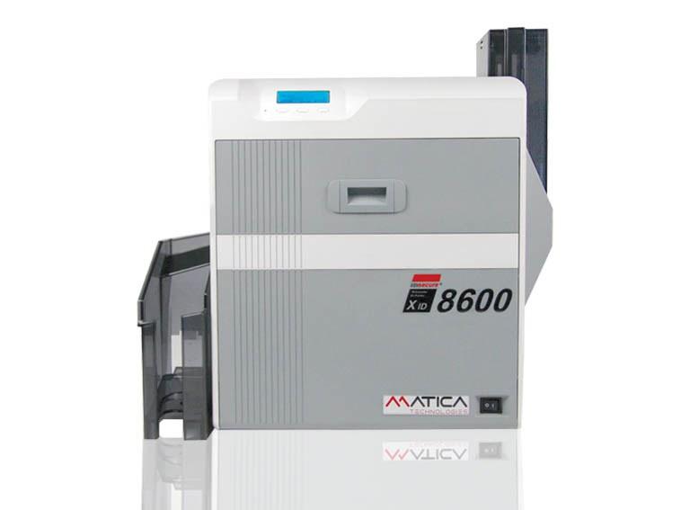 Bonuskarten drucken mit dem Matica XID 8600