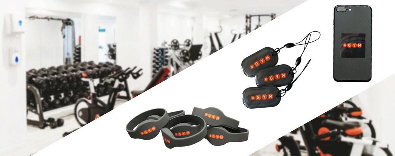 Banner Fitnessstudio Fitnesskarten Egym
