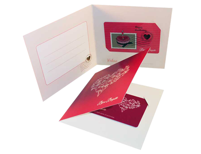 Packaging and gift cards for our customer Bijou Brigitte