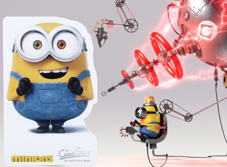 Minion Sonderformat Laser