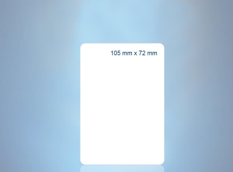 105 x 72 mm