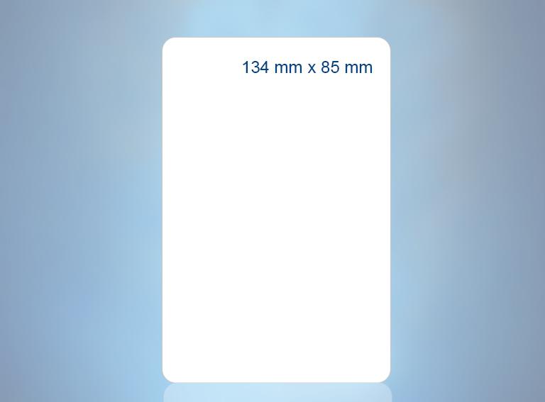 134 mm x 85 mm