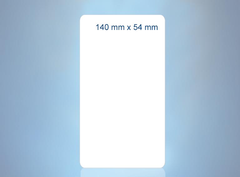 140 mm x 54 mm