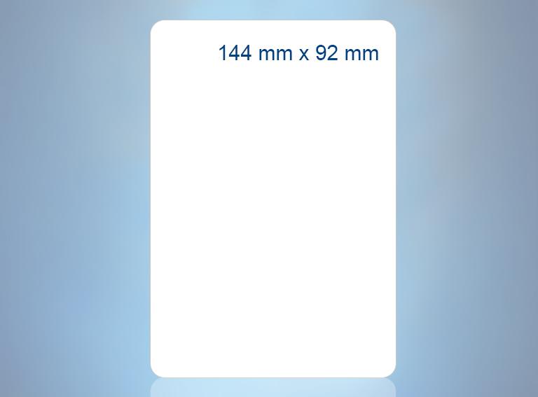 144 mm x 92 mm