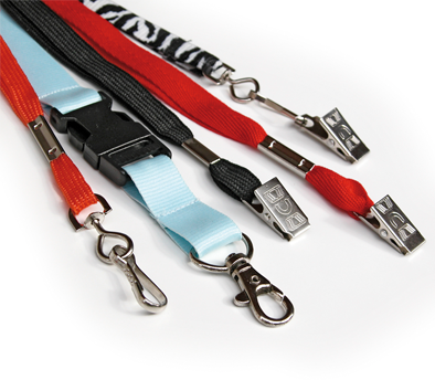 Lanyards for plastic cards