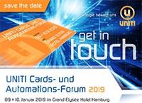 UNITI Cards- und Automations-Forum 2019