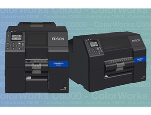 High-quality label printing with the new Epson ColorWorks C6000/C6500 series