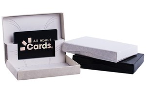 The box for your gift cards