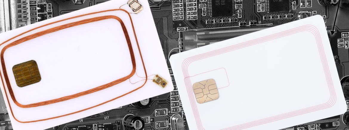 Hybrid card - combination of various chiptechnologies  and wide card application