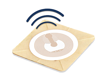 RFID-labels for product authentification, flow of goods and tracking