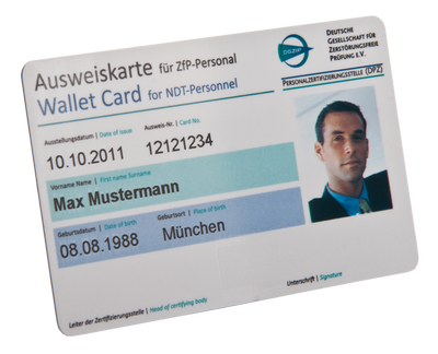 employee-ID-card for identification