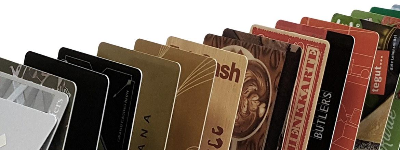Plastikkarten von All About Cards