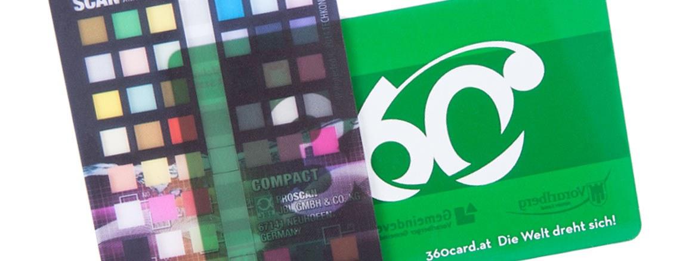 Transparente Karten, transparente Plastikkarten - durchsichtig gestaltet oder eingefärbt