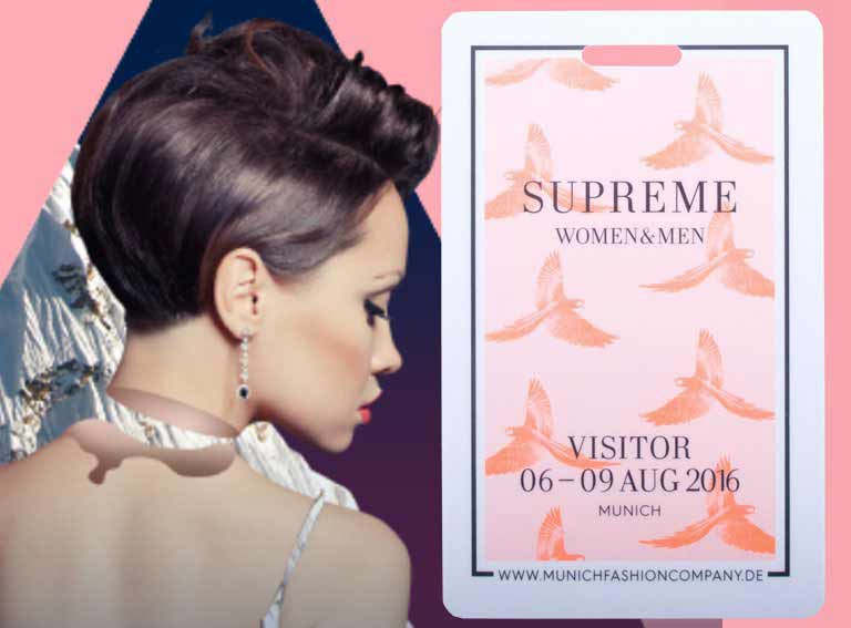 Visitor ID-card supreme fashion