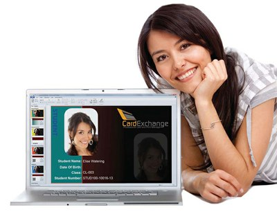 CardExchange software for designing and printing plastic cards and ID-cards