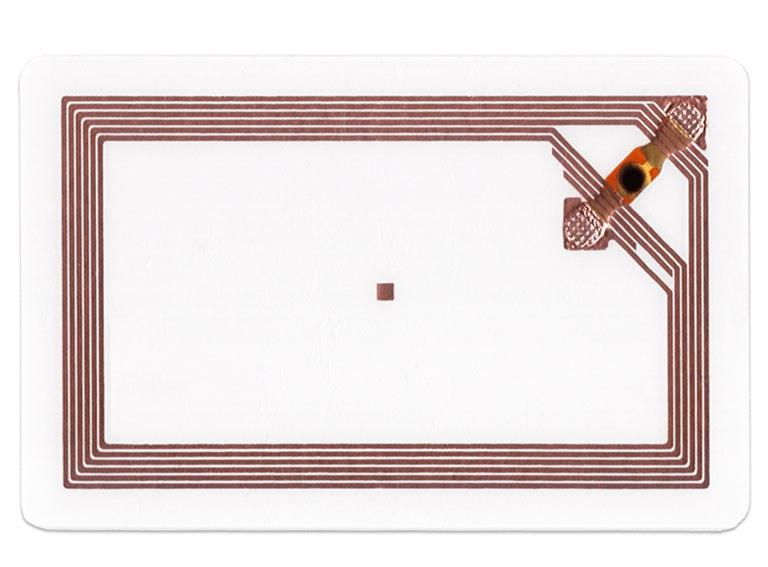 RFID-Karten - Kontaktlose Datenübertragung mittels Radiofrequenz Antenne