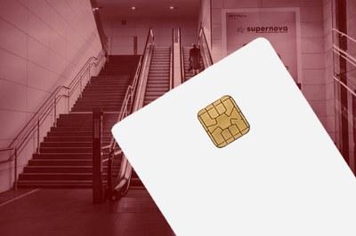 Kontaktbehaftete Chipkarte