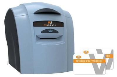"card printer for Pridento VMS ""PVC"""
