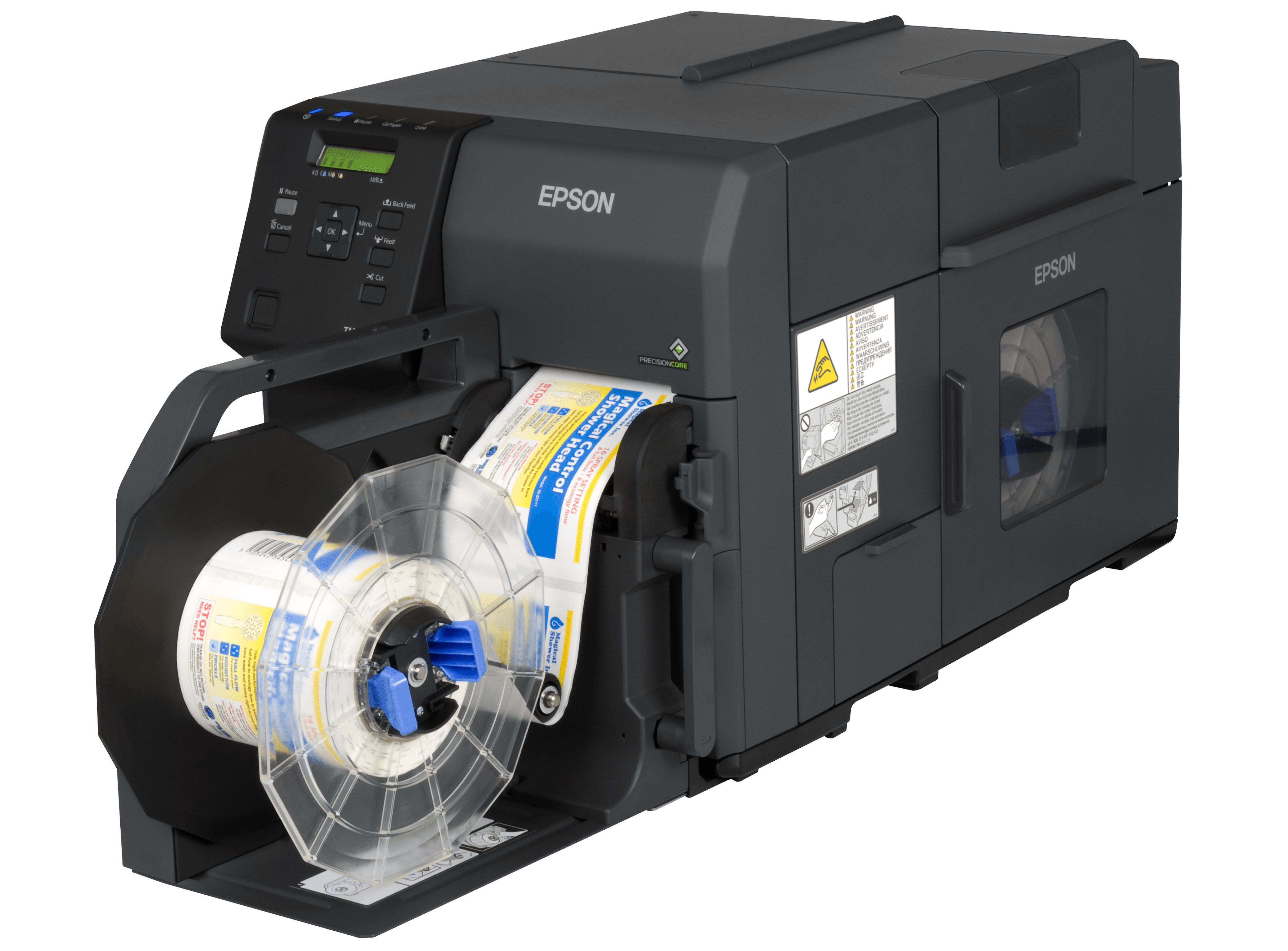 Epson ColorWorks C7500 links offen.png