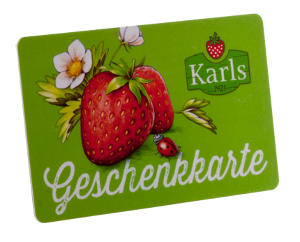 Kartenmuster Geschenkkarte Karls