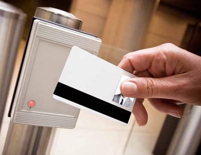 access control with a RFID-card