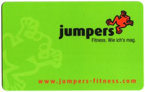 Fitnessstudio-Mitgliedskarte Jumpers