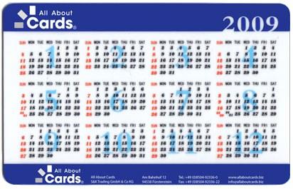 Kalenderkarte