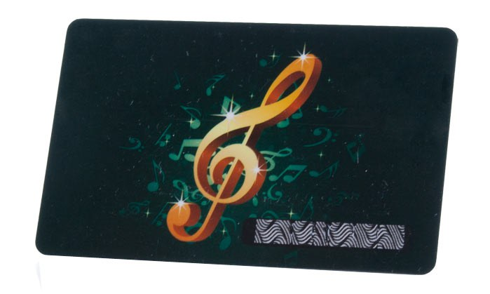 Personalisierte Plastikkarte mit Scratch Off / Rubbelfeld