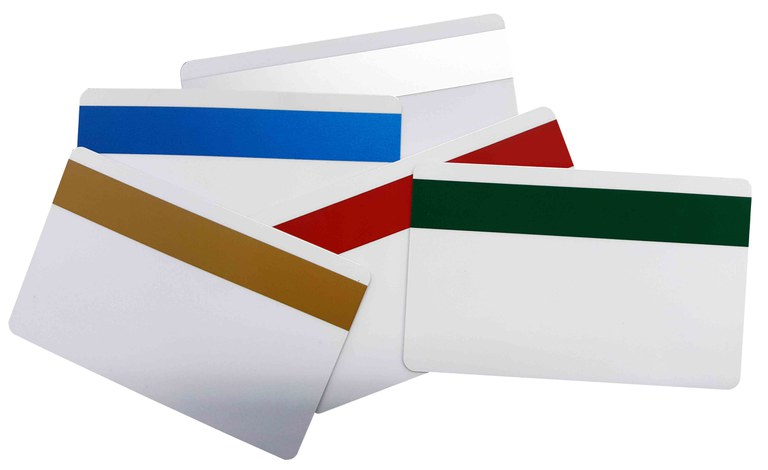 Magnetic cards, magnetic stripe cards, magnetic stripes, card reader