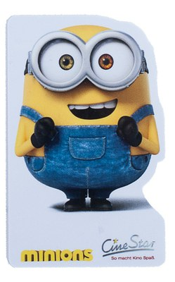 Special shaped plastic card: Minion