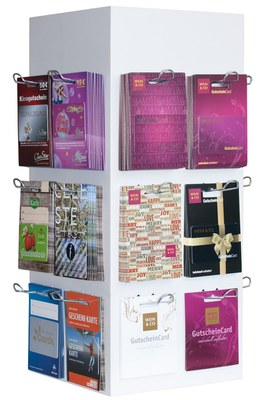 Kartenträger für den POS | Beispiele von verschiedenen Kunden