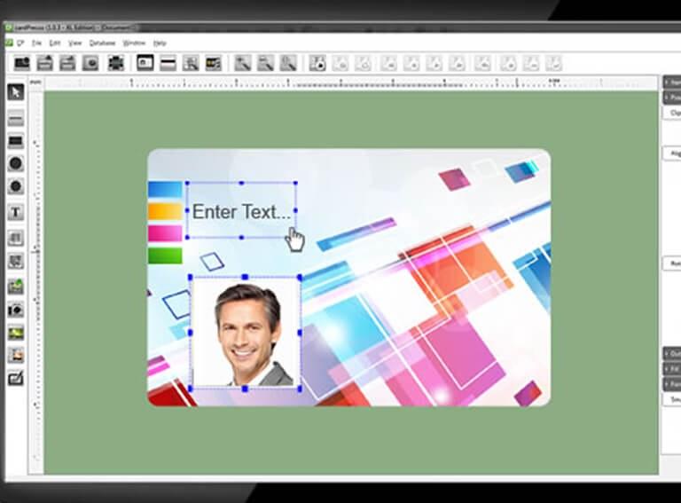 Kartendruck-Software