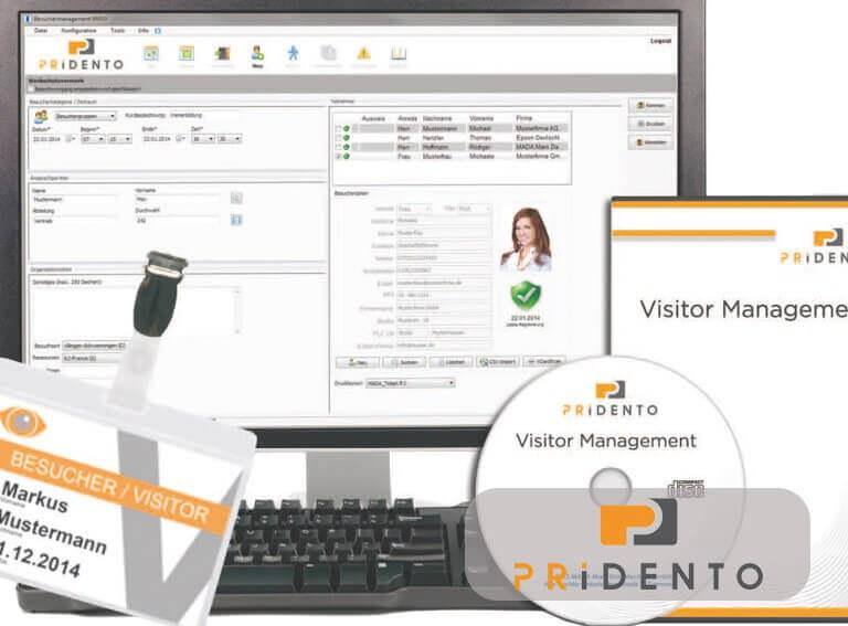 Pridento VMS fürs Besucher-Management