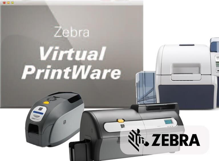 Card printer software Zebra Virtual PrintWare - Printer connection