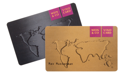 Personalized loyalty cards with specific design: silkscreen and Pantone-colours