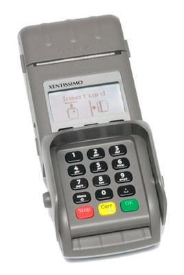 Kartenterminal Xentissimo - Z-Box mobil