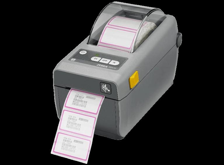 Zebra ZD410 Etikett