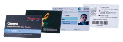 plastic cards with personalization